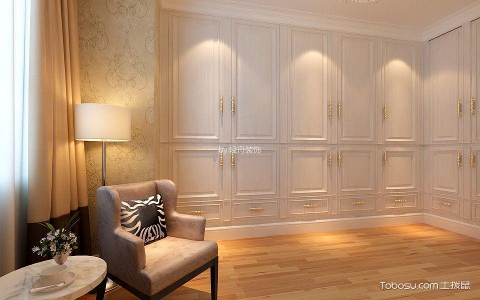 卧室黄色地板砖简欧风格装修图片