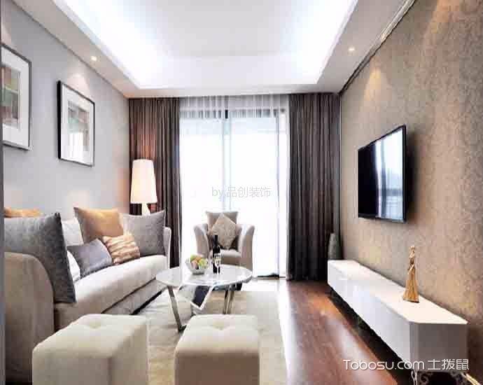 现代舒适白色套房装修效果图