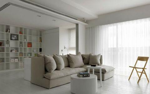 简约风格140平米大户型室内装修效果图