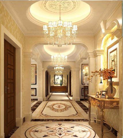 新古典风格240平米大户型室内装修效果图