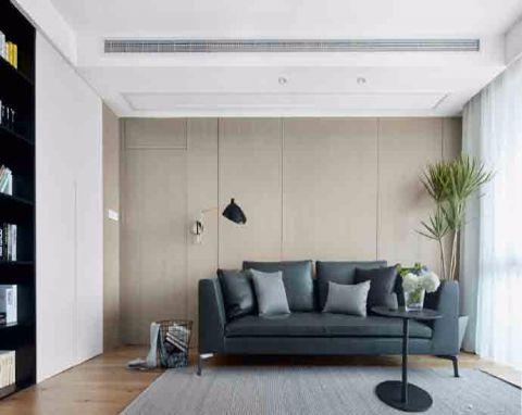 简单风格100平米两室两厅室内装修效果图