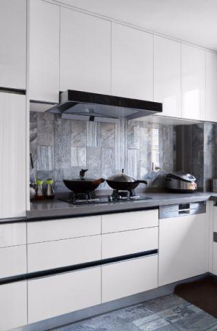 厨房背景墙简单风格装饰设计图片