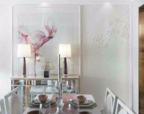 餐厅餐桌欧式风格装修设计图片