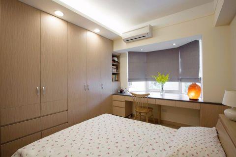 卧室窗台现代简约风格装饰设计图片