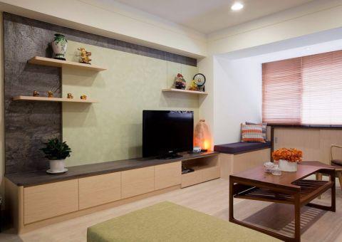 客厅电视柜现代简约风格装修效果图