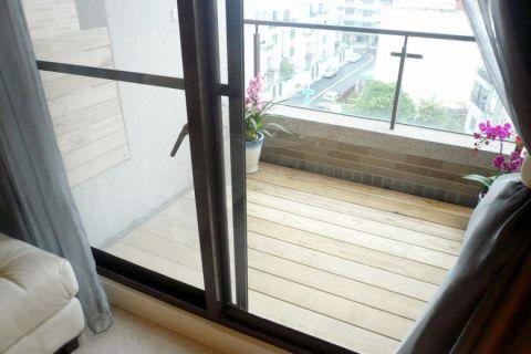 阳台推拉门简约风格装修效果图