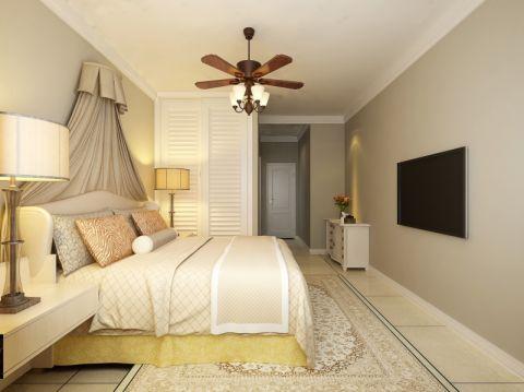 卧室床简约风格效果图