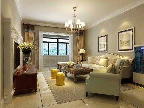 客厅照片墙简约风格装修效果图