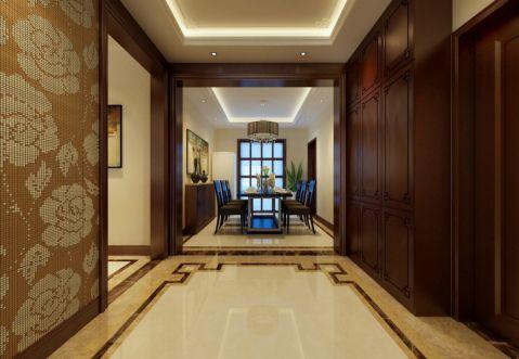 玄关走廊简中风格装饰设计图片
