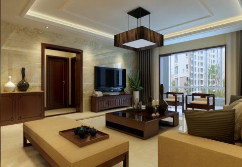 简中风格140平米四室两厅室内装修效果图