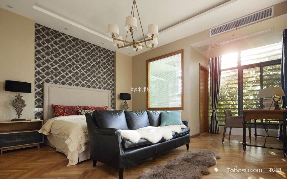 混搭风格130平米四室两厅新房装修效果图
