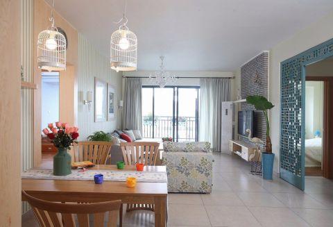 2019现代中式90平米装饰设计 2019现代中式二居室装修设计