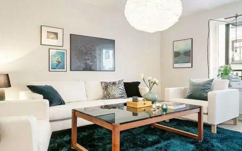 北欧风格80平米两居室室内装修效果图