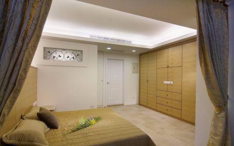 卧室吊顶美式风格装潢图片