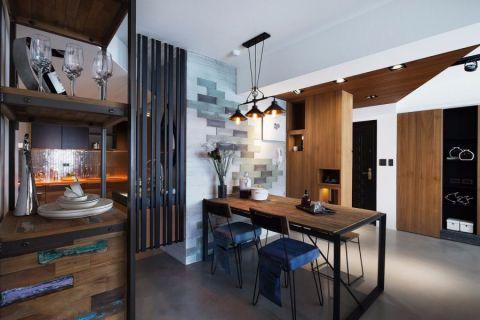 现代风格90平米三室两厅新房装修效果图