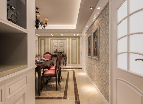 餐厅地砖欧式风格装潢效果图