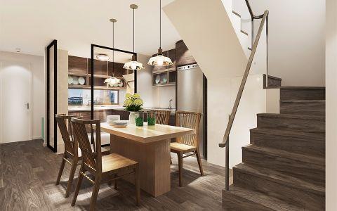 餐厅楼梯简约风格装潢设计图片