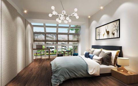 卧室地板砖简约风格效果图