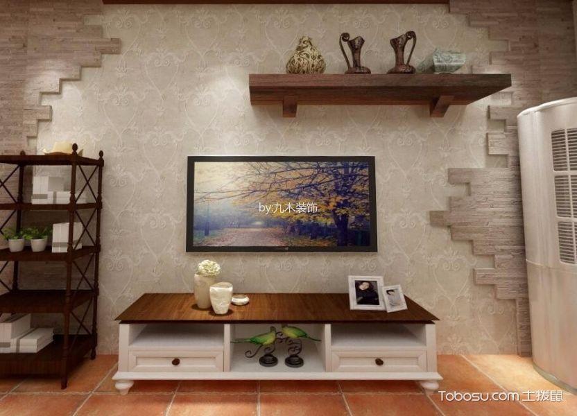 美式风格170平米三室两厅室内装修效果图