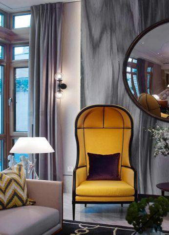 2019新中式客厅装修设计 2019新中式窗帘装修图