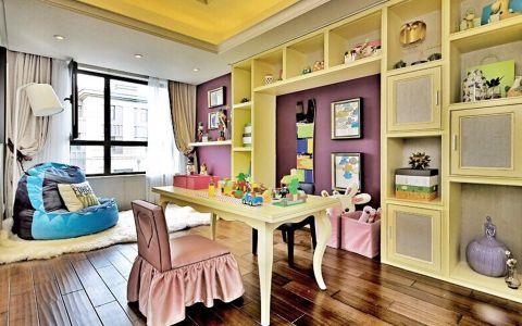 书房博古架简约风格装饰设计图片