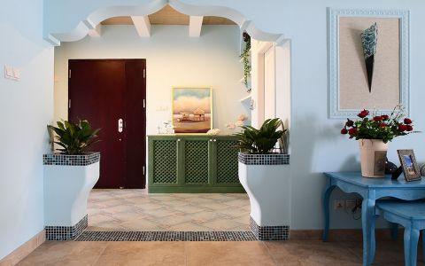 玄关走廊地中海风格装饰图片