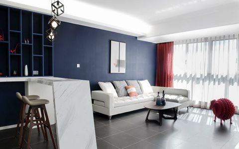 现代简约风格160平米大户型新房装修效果图
