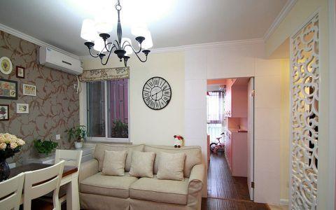 现代简约风格80平米公寓新房装修效果图
