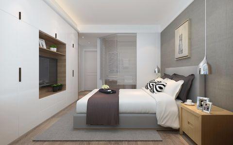 卧室床头柜现代风格装修设计图片
