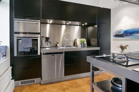 厨房简约风格装修设计图片