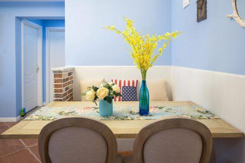餐厅走廊地中海风格装饰效果图