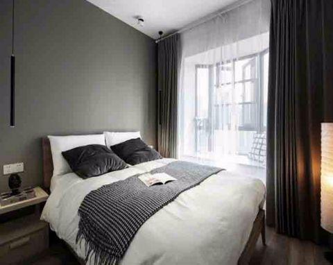 卧室窗台现代风格装潢效果图
