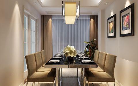 餐厅窗帘现代风格装饰设计图片