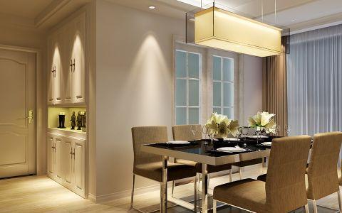 餐厅走廊现代风格装潢设计图片