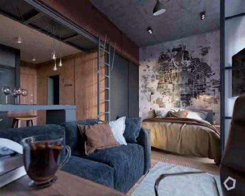 客厅窗台简约风格装饰效果图