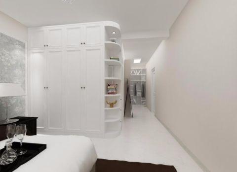 卧室走廊现代简约风格装饰图片