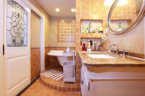 卫生间美式风格装饰设计图片