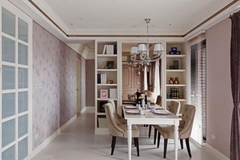 餐厅吊顶新古典风格装潢图片