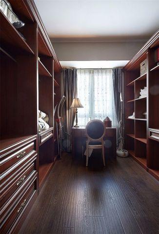 书房地板砖美式风格装修效果图