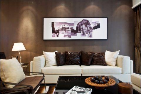 御龙湾70平现代简约两居装修案例图