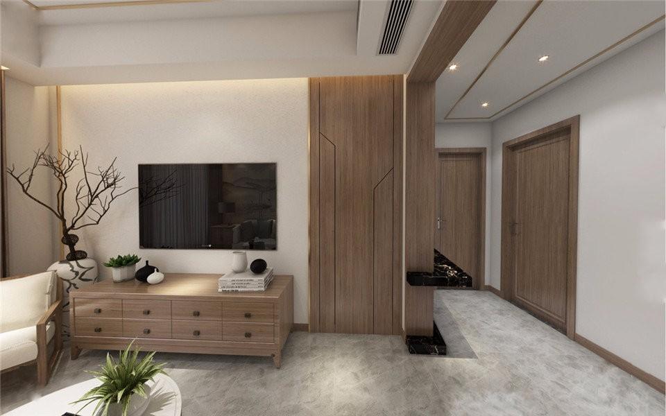 3室2卫2厅88平米新中式风格