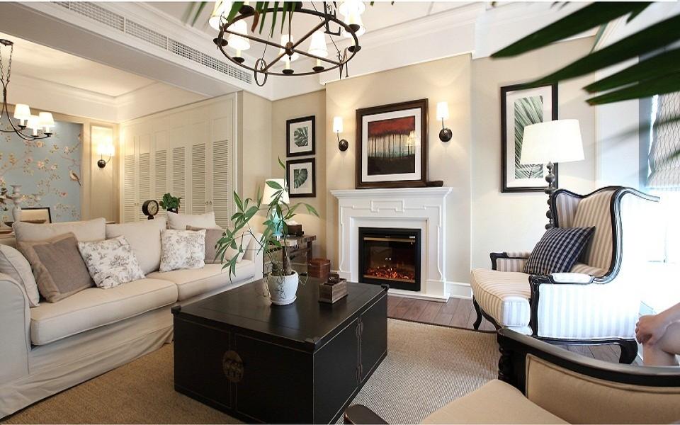 3室1卫2厅114平米新古典风格