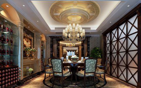 餐厅吊顶欧式风格装潢图片