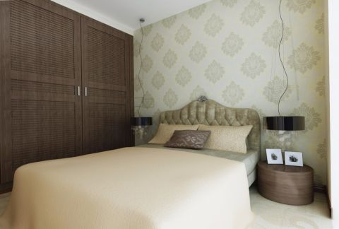 卧室衣柜美式风格装饰图片