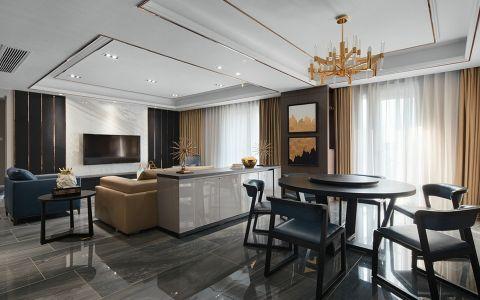 阿奎利亚大户型现代风格家居装修效果图