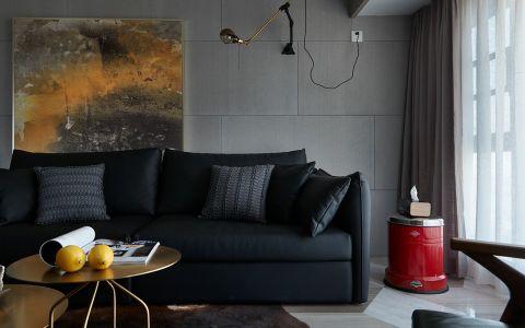 客厅窗帘现代风格装潢图片