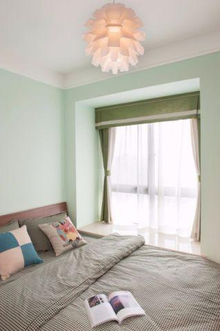 卧室吊顶北欧风格装潢设计图片