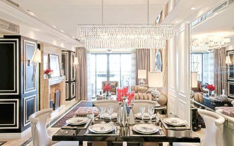 餐厅餐桌简欧风格装饰设计图片