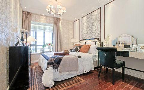 卧室背景墙简欧风格效果图