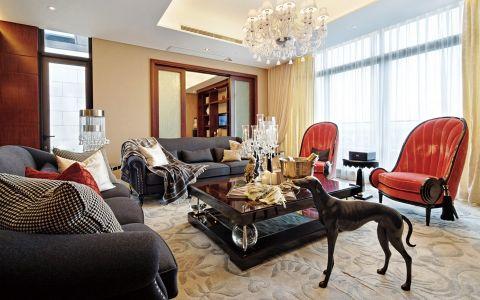 欧式风格130平米四室两厅室内装修效果图